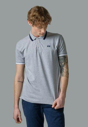 Polo shirt - light heather grey