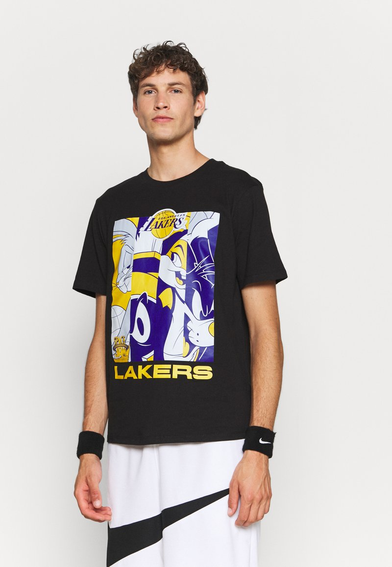 Outerstuff - NBA LOS ANGELES LAKERS SPACE JAM 2 MOD SQUAD TEE - Club wear - black