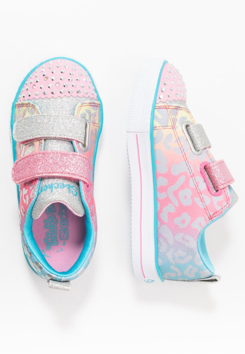 Skechers - SHUFFLE LITE - Tenisky - pink/multicolor/silver