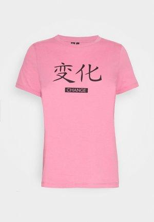 VMLOTUS - T-shirts print - chateau rose