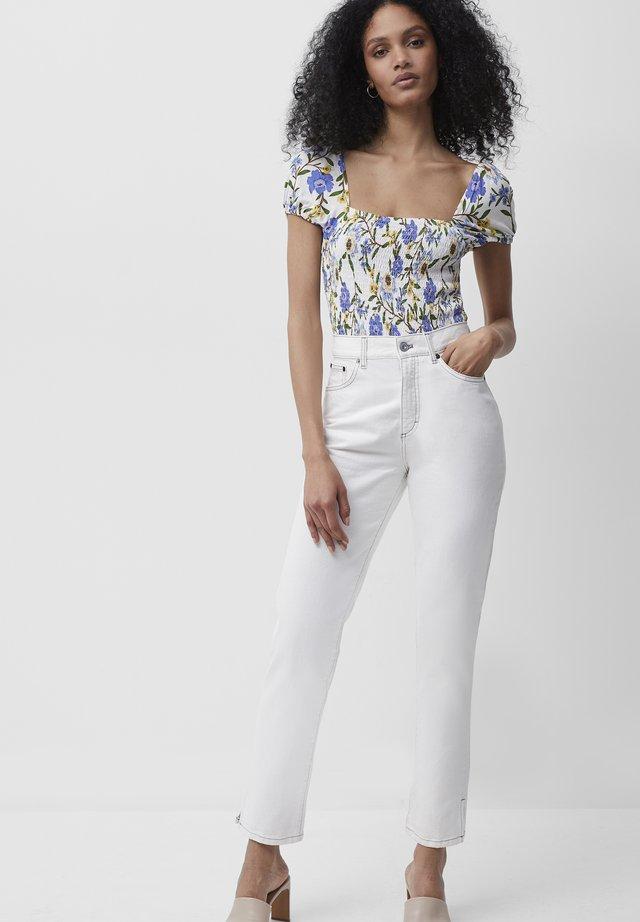 Blouse - summer white multi
