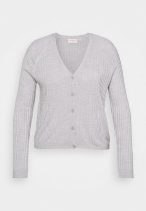 CARAMALIA CARDIGAN  - Cardigan - light grey melange