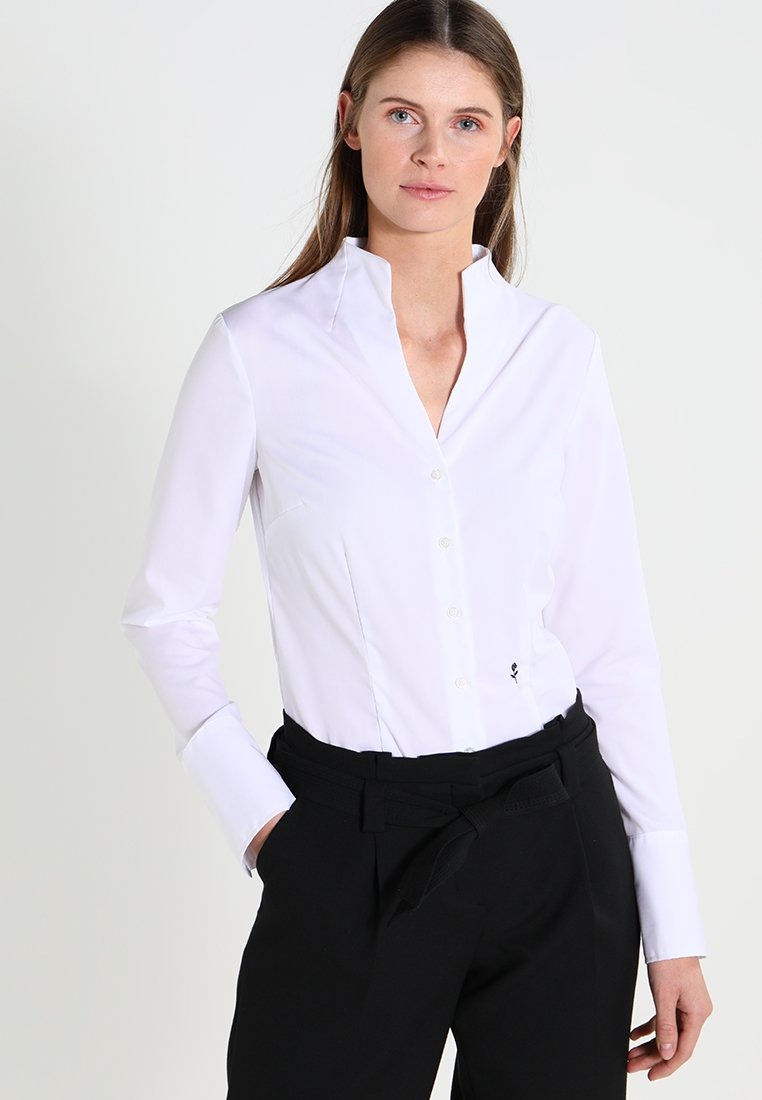 Seidensticker - Button-down blouse - white