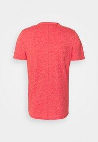 Tommy Jeans - JASPE NECK - T-shirt - bas - deep crimson - 1