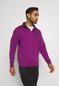 Columbia - BUGA QUARTER ZIP - Sweatshirt - plum/black - 0
