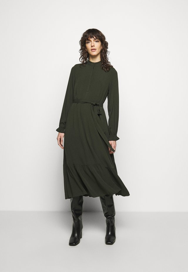 NORI SICI DRESS - Shirt dress - green night