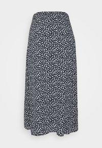 Nümph - NUCARLY SKIRT - Maxi skirt - black - 6
