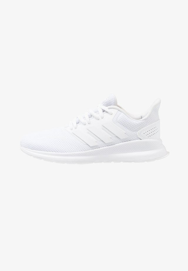 RUNFALCON - Neutrala löparskor - footwear white/core black