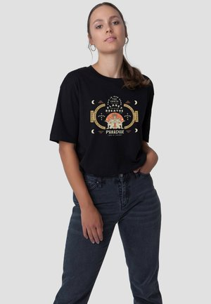 RETRO PARADISE - T-shirt print - black