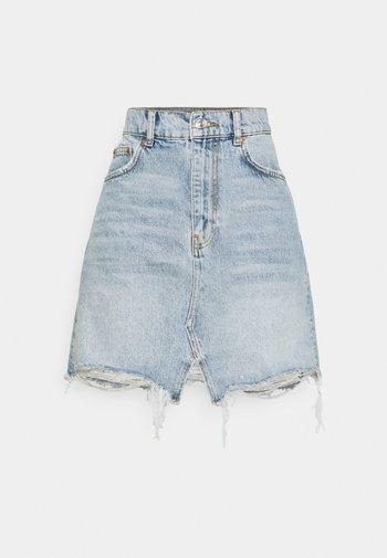 ORIGINAL SKIRT - Denim skirt - vintage blue
