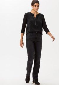 BRAX - Straight leg jeans - gray - 1