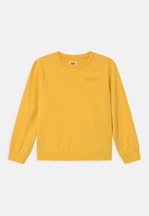 DROP SHOULDER CREW - Mikina - daffodil