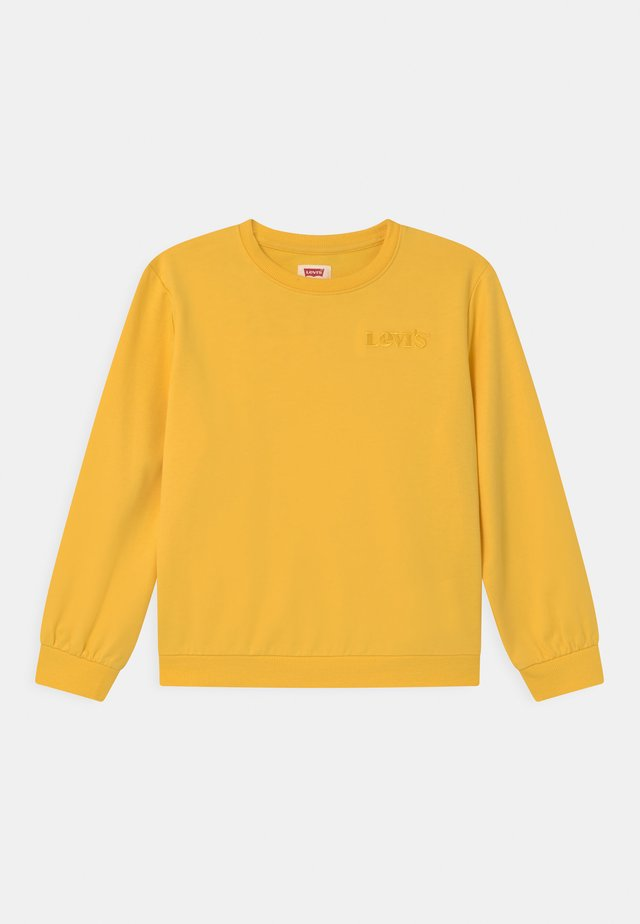 DROP SHOULDER CREW - Sweatshirt - daffodil