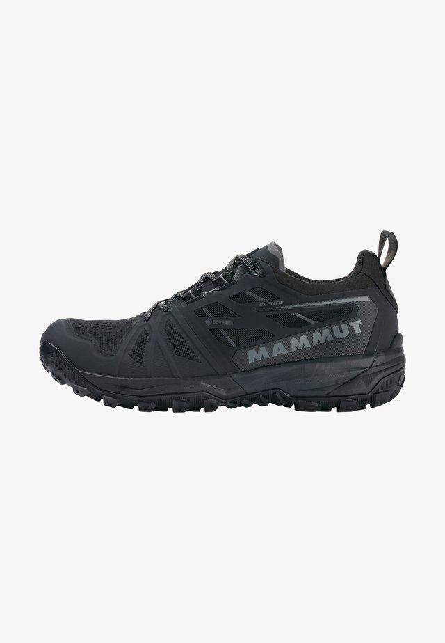 SAENTIS  - Hiking shoes - black phantom