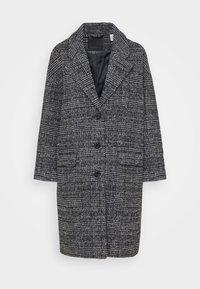 COCOON COAT - Classic coat - danbunite caviar plaid