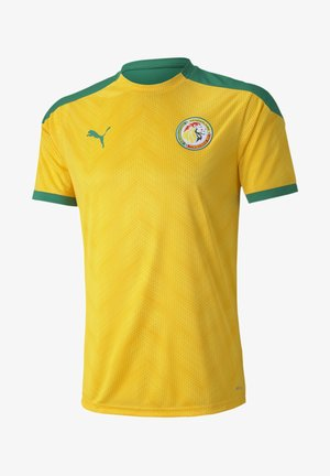 SENEGAL STADIUM - T-shirt imprimé - dandelion-pepper green