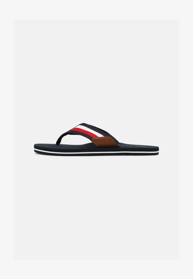 Tommy Hilfiger - CORPORATE - T-bar sandals - desert sky