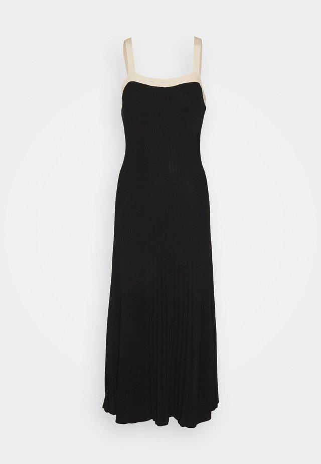 Pletené šaty - noir