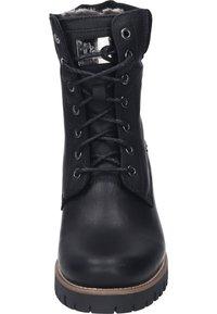 Panama Jack - Lace-up ankle boots - black - 4