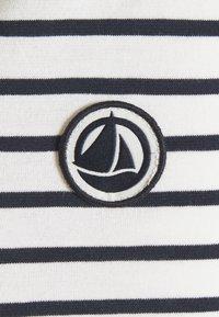 Petit Bateau - MARINIERE - Camiseta de manga larga - marshmallow/smoking - 2