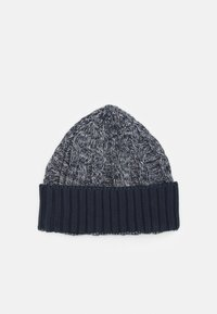 HKT by Hackett - CABLE BEANIE - Berretto - grey/blue - 1