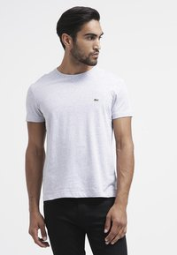 Lacoste - T-shirt basic - paladium chine - 0