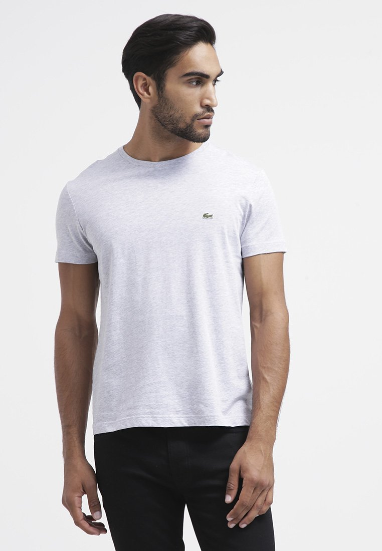 Lacoste - T-shirt basic - paladium chine