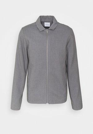 ZIP THROUGH - Leichte Jacke - grey melange