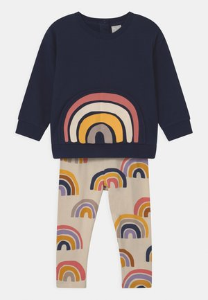 RAINBOW SET UNISEX - Mikina - dark blue