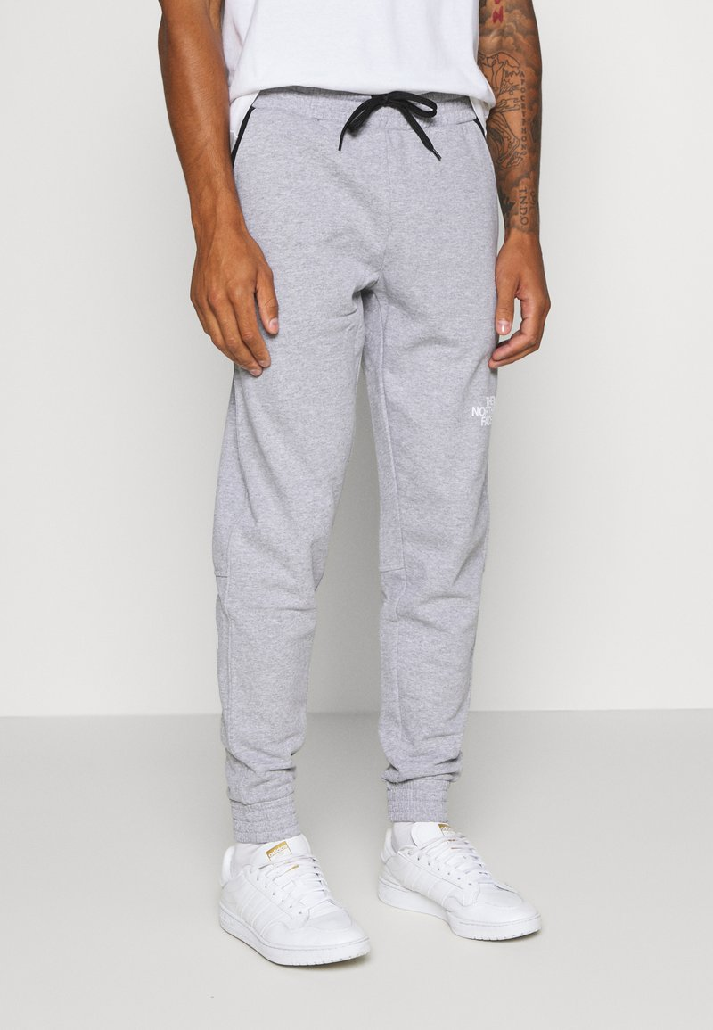 The North Face - STANDARD PANT - Spodnie treningowe - light grey heather