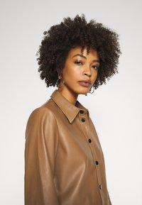 Opus - FEDA - Button-down blouse - peanut - 5