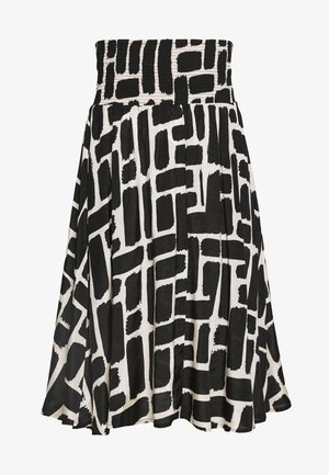 SONDRA - Áčková sukně - black