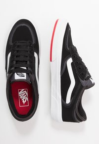 Vans - ROWLEY - Skate shoes - black/red - 1