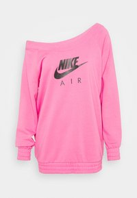 Nike Sportswear - AIR CREW  - Sweater - pinksicle/black