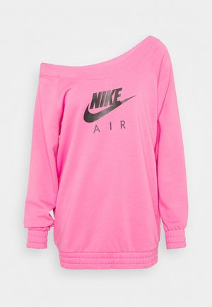 AIR CREW  - Sweatshirt - pinksicle/black