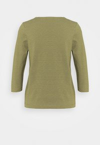 Marc O'Polo DENIM - STRIPE - Long sleeved top - olive - 1