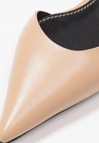 Proenza Schouler - Slingback ballet pumps - deserto/cream - 2