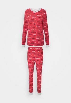 JO ADULTS SET - Pyjamaser - red