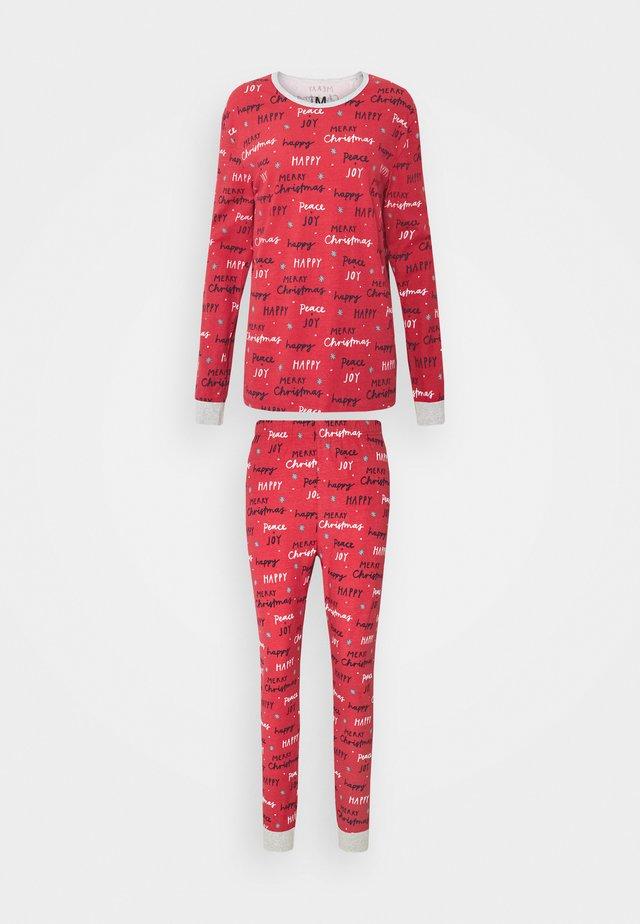 JO ADULTS SET - Pyjama - red