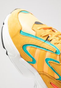 adidas Originals - YUNG-96 CHASM - Trainers - flash orange/active gold/ji-res aqua - 5