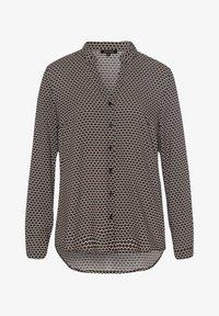 More & More - MINIMALPRINT - Button-down blouse - schwarz - 1