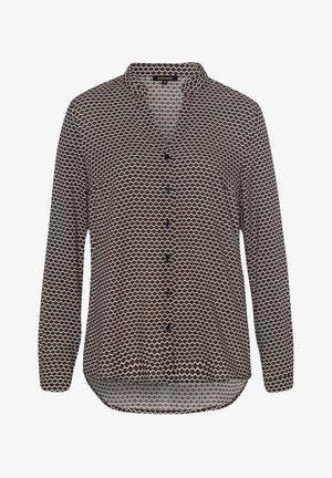 MINIMALPRINT - Button-down blouse - schwarz