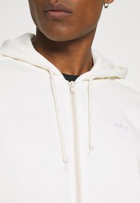 adidas Originals - ADICOLOR 3-STRIPES FULL-ZIP NO-DYE HOODED TRACK TOP - Mikina na zip - non-dyed - 4