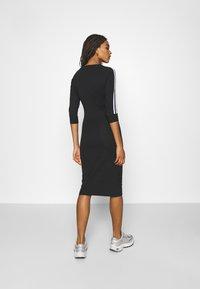adidas Originals - STRIPES DRESS - Trikoomekko - black - 2