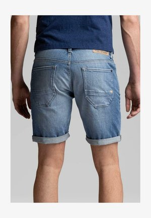 LEGEND NIGHTFLIGHT - Denim shorts - blue