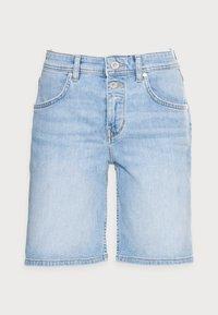 Denim shorts - commercial blue wash