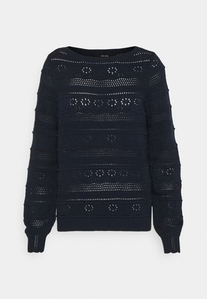 VMTHREED BOATNECK - Pullover - navy blazer
