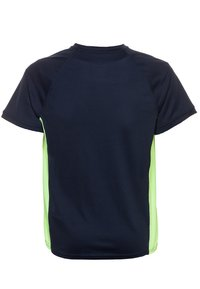 Nike Performance - DRY - T-shirts print - obsidian/ghost green - 1