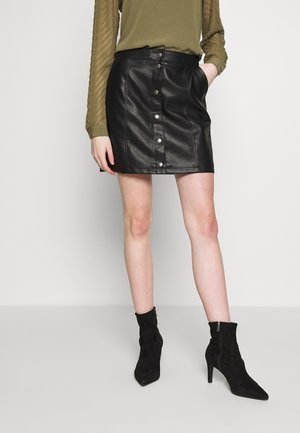 VMCONNERYRAY SHORT SKIRT - A-linjainen hame - black