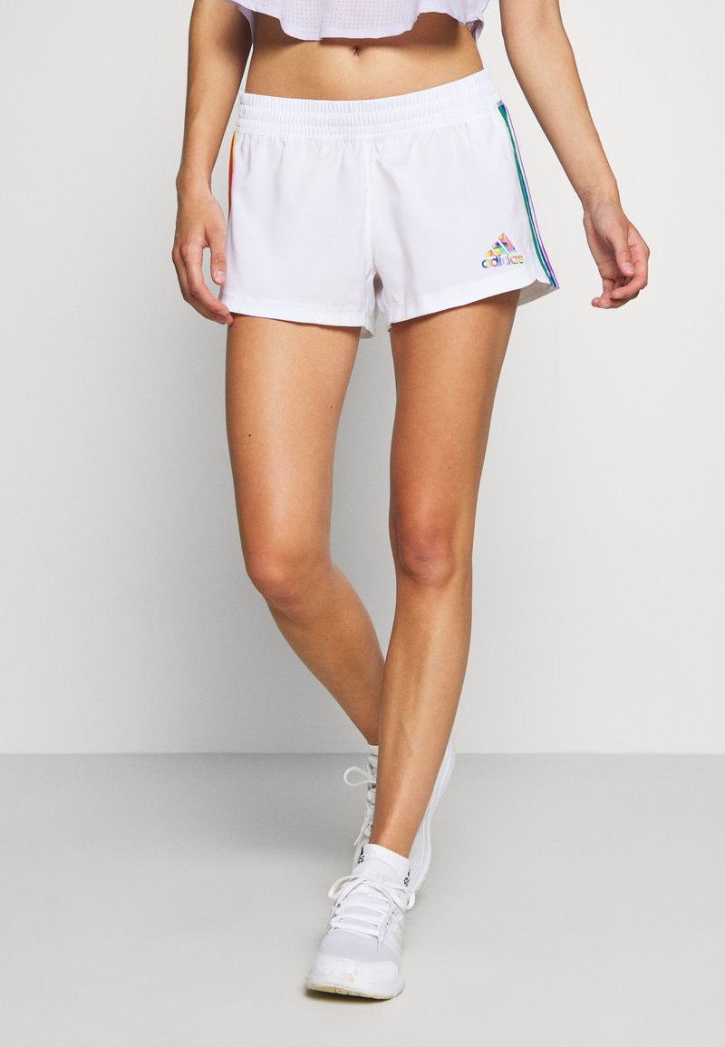 adidas Performance - PRIDE PACER SHORT - Sports shorts - white